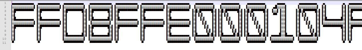 One Line Ascii Art Eyes : H ck t belarus electronicon writeup megabeets